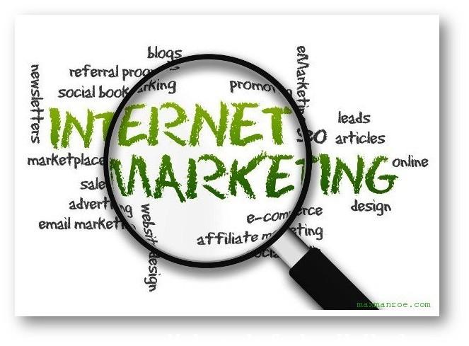 Ilustrasi Internet Marketing